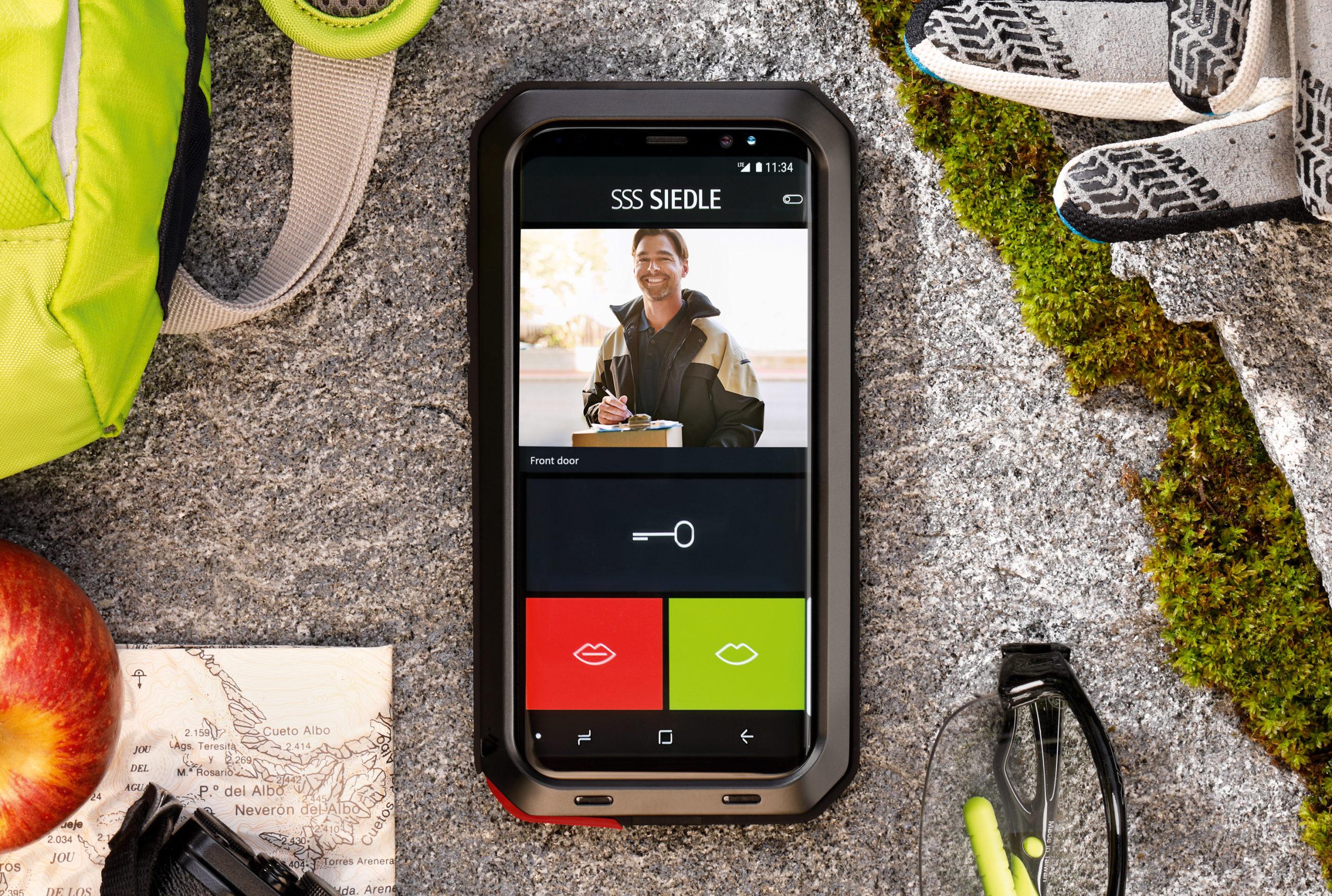 Smartphone als Türöffner