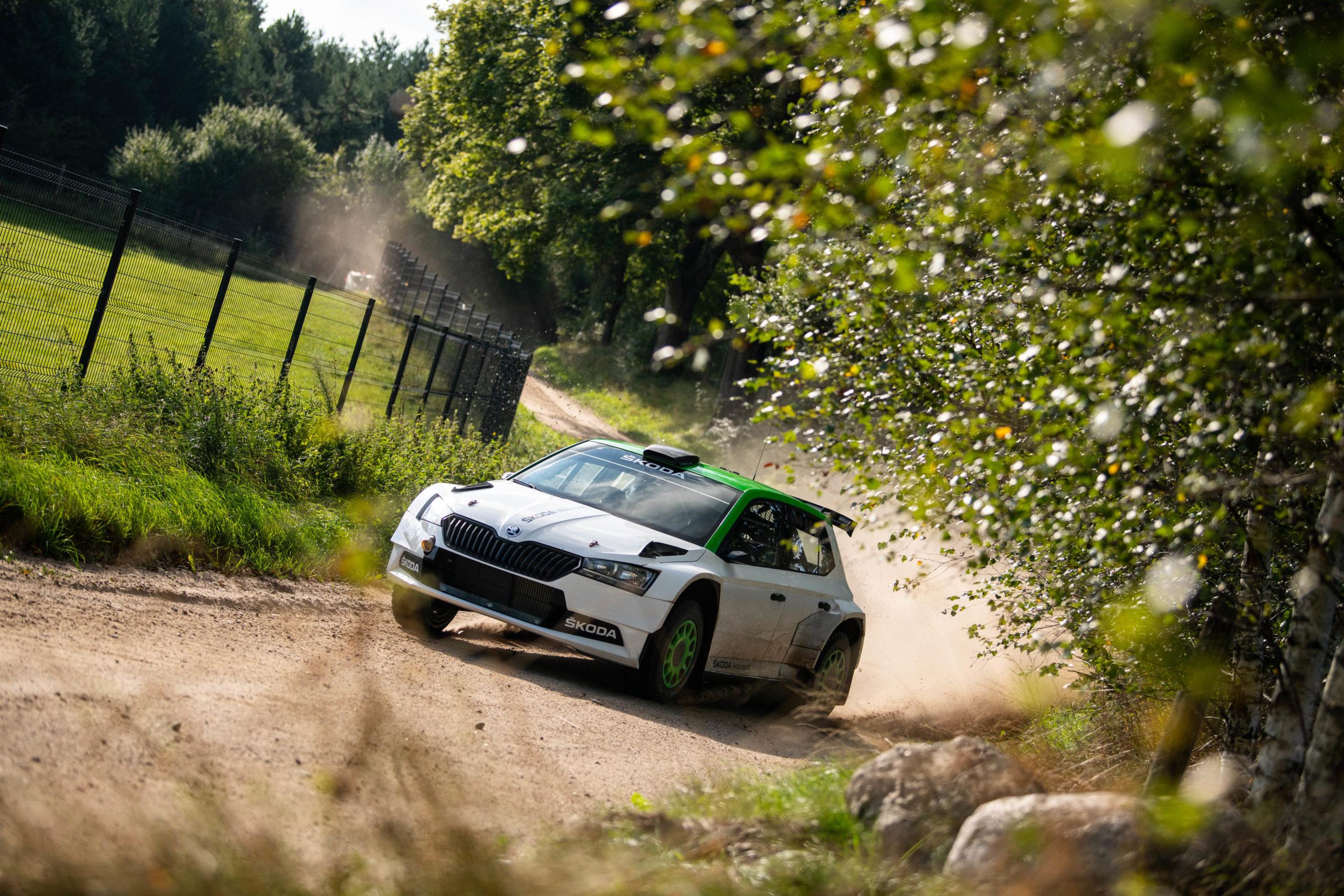 Skoda Fabia Rally 2 evo