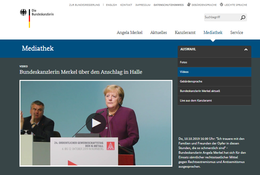Merkel Linksextremistin