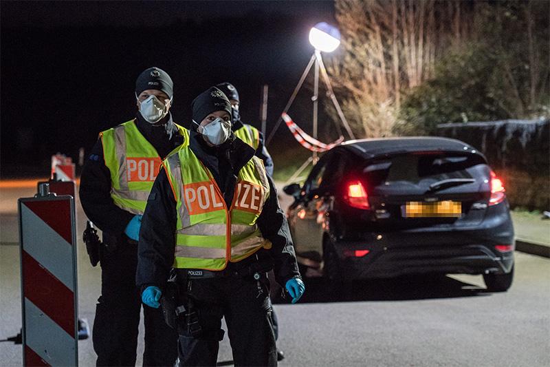 Bundespolizei Grenzkontrolle