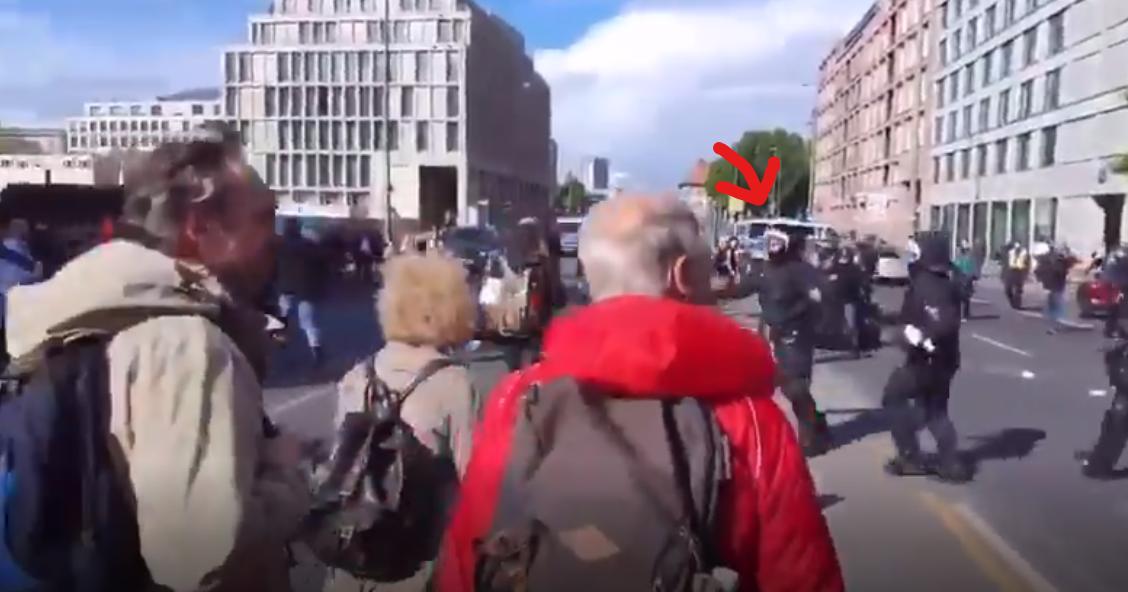 Unreifer Bengel - Berliner Polizei