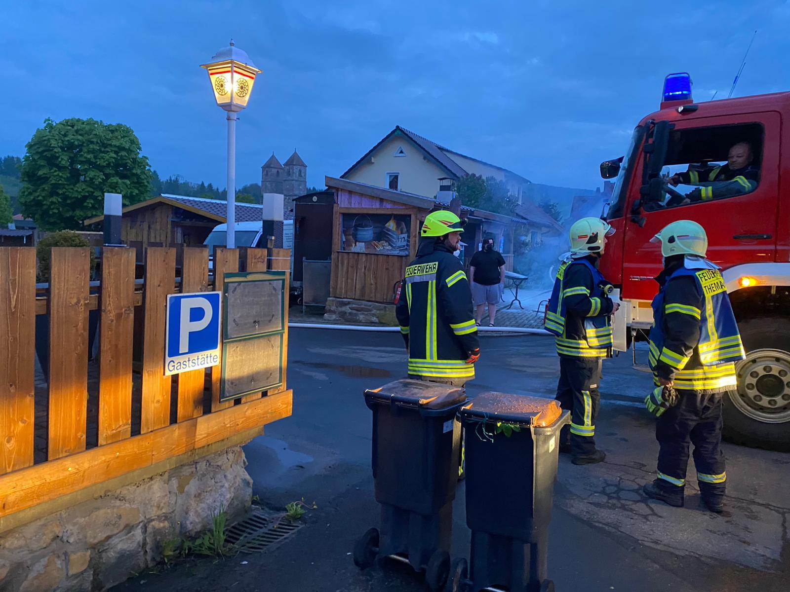 Brandanschlag in Veßra