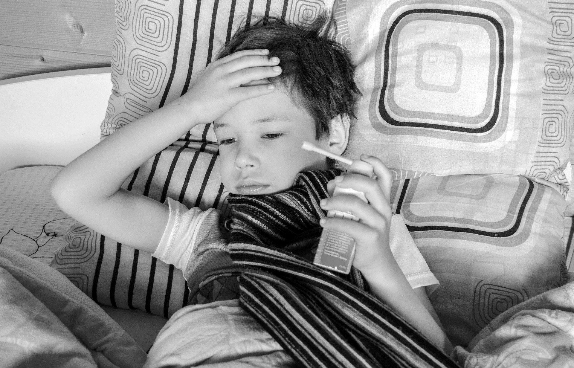 Kind krank