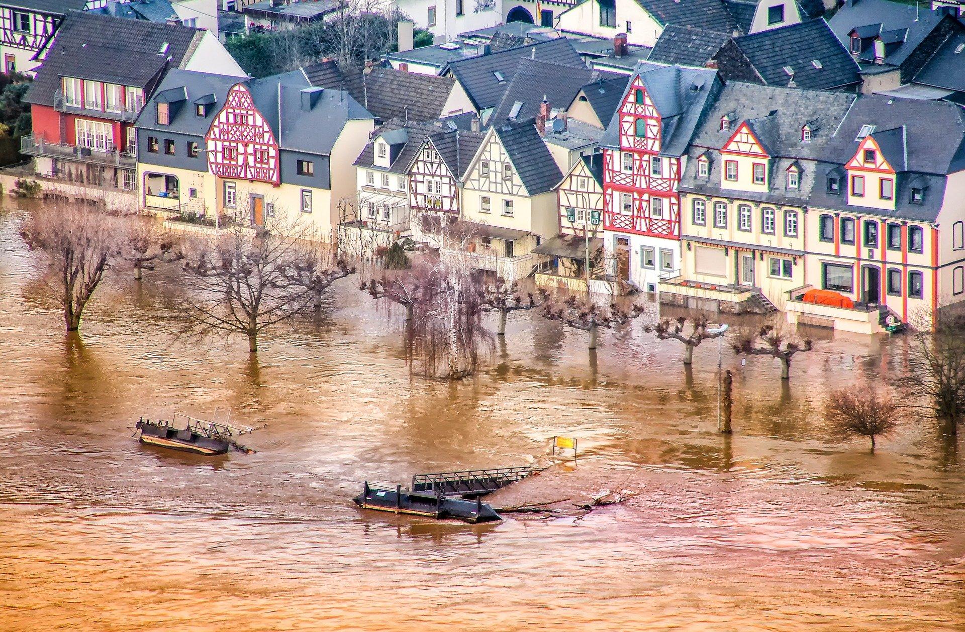 Hochwasser Rhein