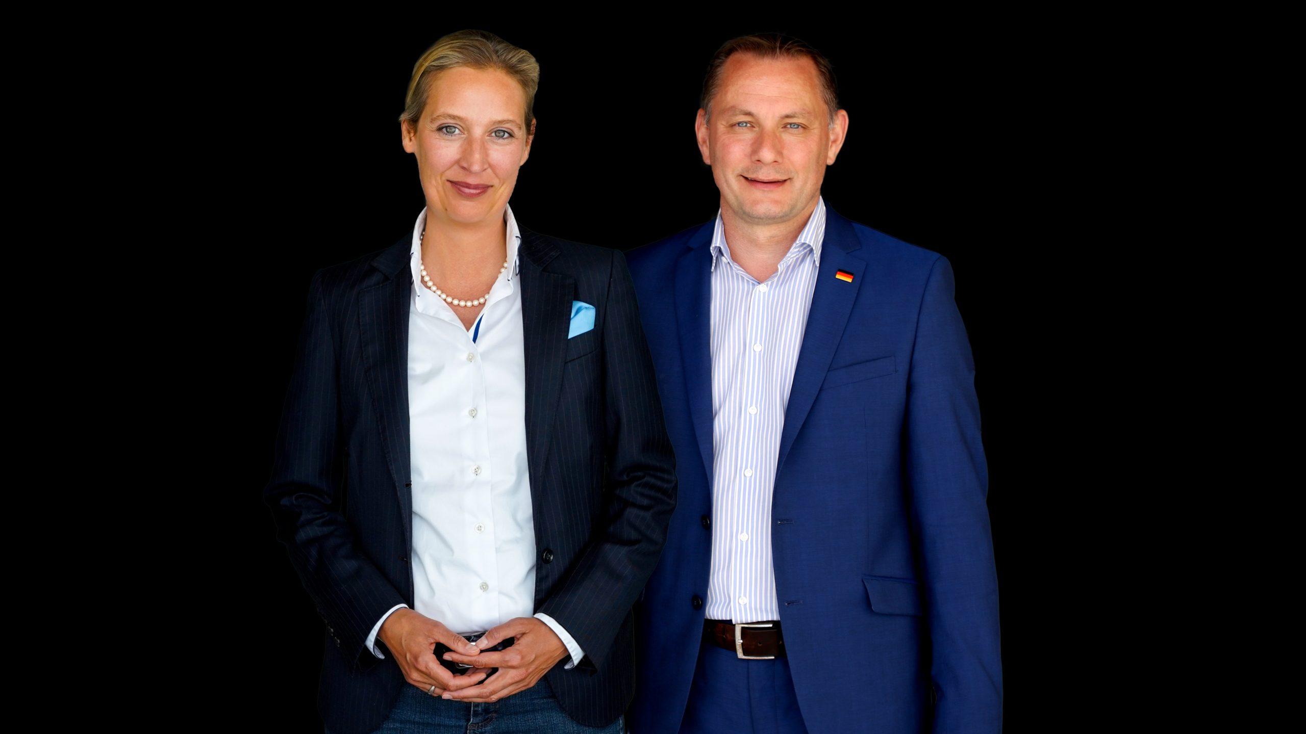 Alice Weidel und Tino Chrupalla