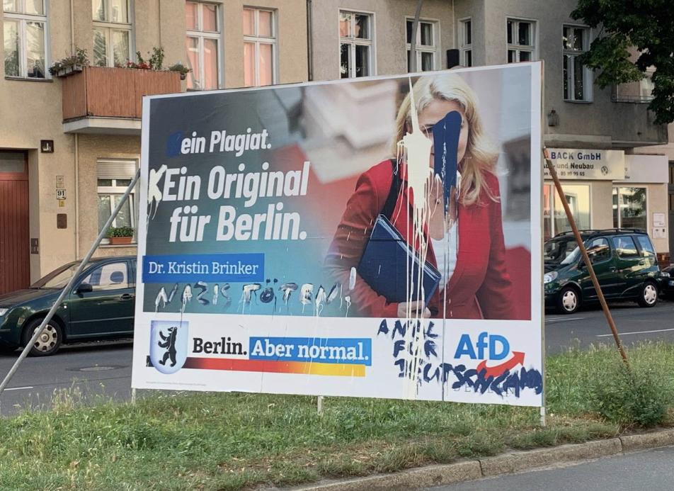 Brinker Plakat