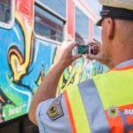 Graffititäter festgenommen: Sehr gute Zusammenarbeit von Landes- und Bundespolizei führt zum Erfolg